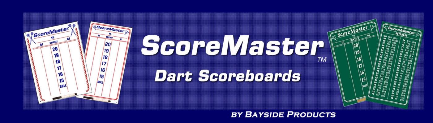 Scoremaster Dart Scoreboards